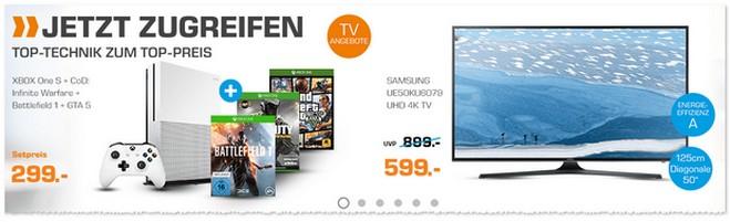 Xbox One S (500GB) Bundle als Saturn Angebot ab 4.11.2016