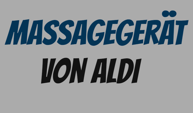 ALDI Massagegerät