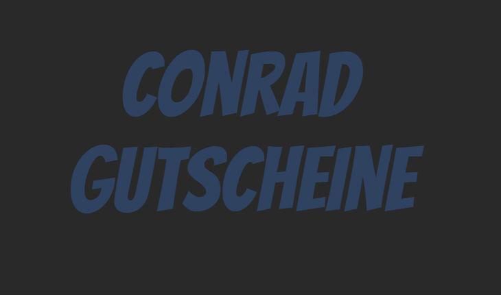 Conrad geschenkgutschein code