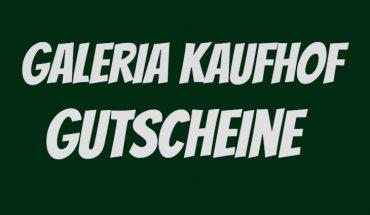 Kaufhof Gutschein