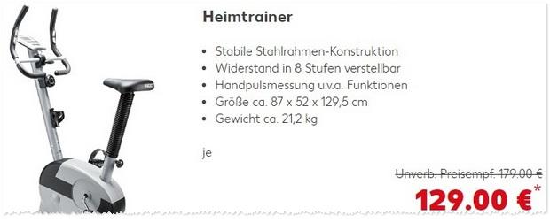 Kaufland Heimtrainer