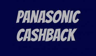 Panasonic Cashback