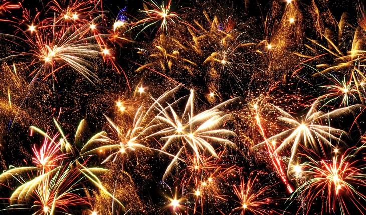 REWE Feuerwerk