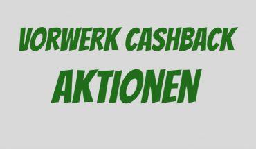 Vorwerk Cashback
