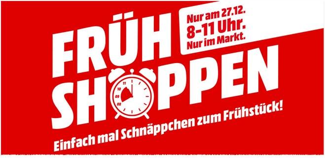 Media Markt Frühshoppen-Aktion am 27.12.2016