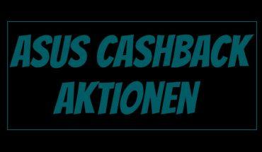 Asus Cashback