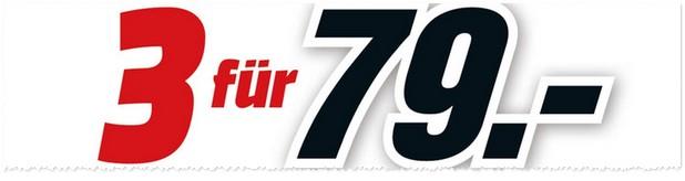 Media Markt 3 für 79