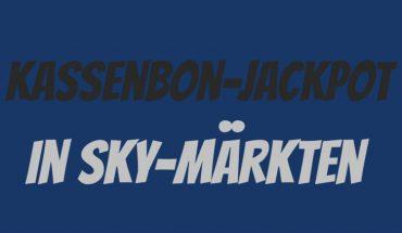 Sky Kassenbon Jackpot