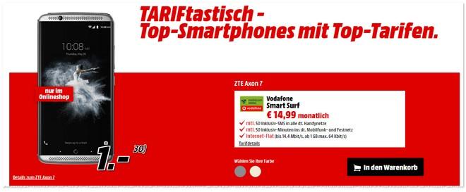 Media Markt TARIFtastisch Deal ab 20.1.2017 (Freitag)