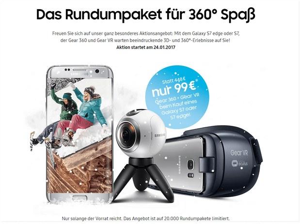 Samsung 360° Rundumpaket