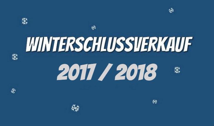 Winterschlussverkauf 2017/2018
