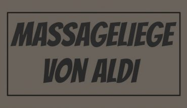 ALDI Massageliege