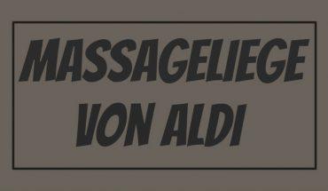 ALDI Massageliege