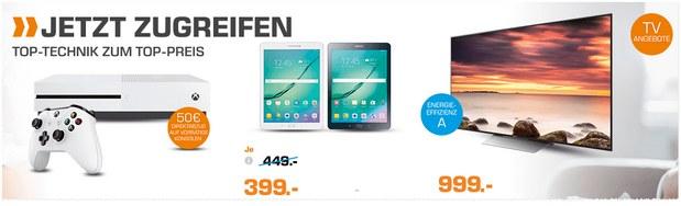 Samsung Galaxy Tab S2 als Saturn-Angebot ab 13.2.2017 für 399 €