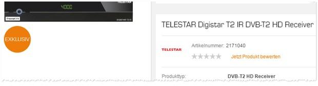 Telestar Receiver