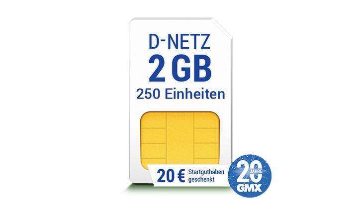 GMX Handytarif 20 Jahre