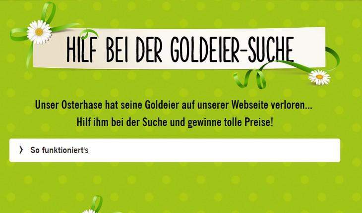 LIDL Goldeiersuche