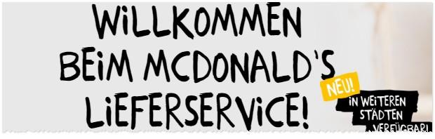 McDonalds Lieferservice