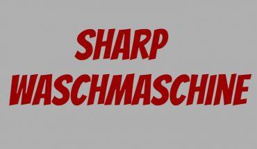 Sharp Waschmaschine