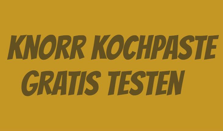 Knorr Kochpaste