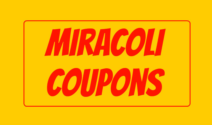 Miracoli Coupon