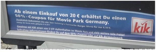 Günstige Freizeitpark Angebote: Movie Park