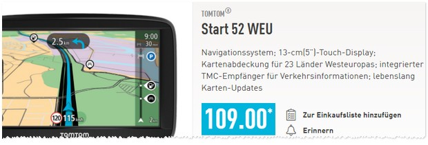 tomtom navigationsger t aldi nord angebot ab 15. Black Bedroom Furniture Sets. Home Design Ideas