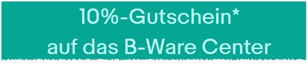 eBay Gutschein: B-Ware