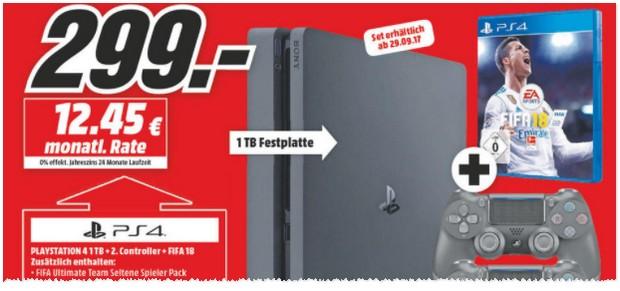 Media Markt Werbung mit PS 4 Bundle
