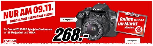 Media Markt Werbung: Canon Kamera