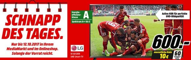 Media Markt Werbung: LG Fernseher