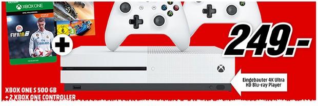 Media Markt Werbung: Prospekt mit Xbox